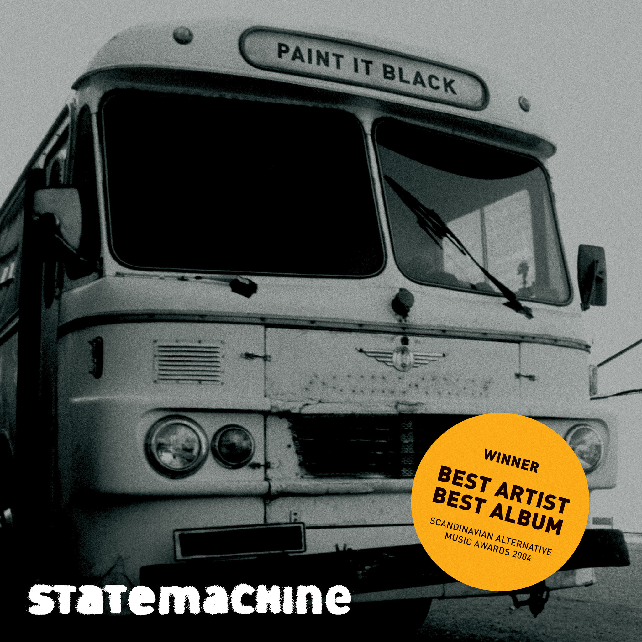 "Statemachine ""Paint It Black"" [single] cover art"