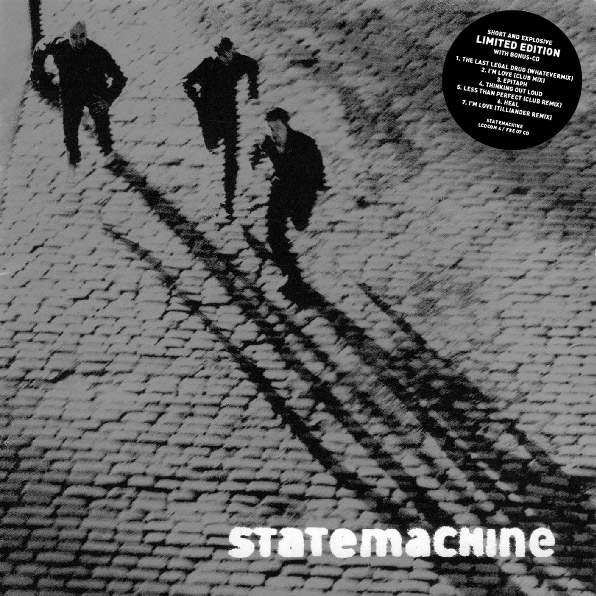 "Statemachine ""Short and Explosive"" [limited edition album] cover art"