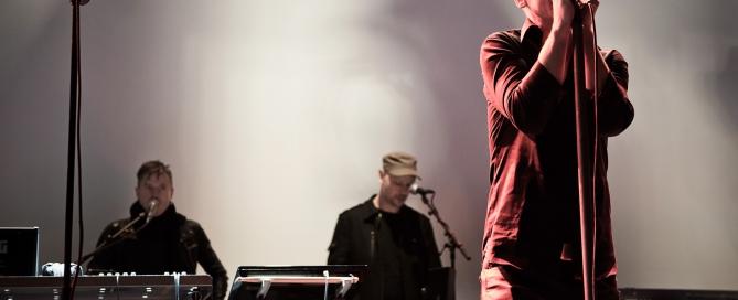 Rickard Gunnarsson, Leo Josefsson, Mårten Kellerman – Statemachine soundcheck, Debaser, Stockholm, March 7th, 2014 © Jan Gustavsson, www.fridhem.biz