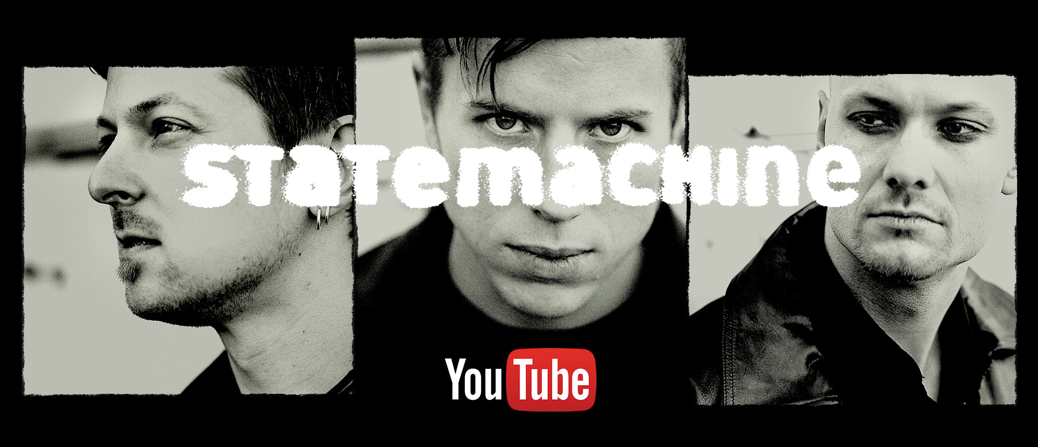 Statemachine YouTube channel art. Photos: Tove Jessica Frank, tovefrank.com