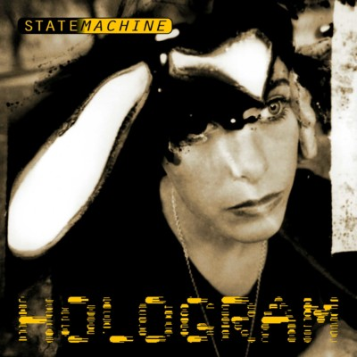 "Statemachine ""Hologram"" [single] OCT 018 cover art, front"